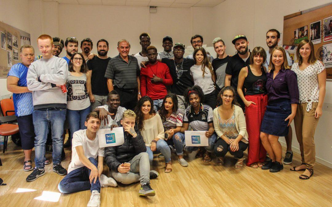 Tell Your Story: les jeunes racontent leurs histoires avec les instruments numérique