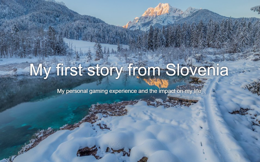 My first story from Slovenia